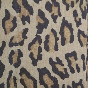 2 Ralph Lauren Standard Pillowcases Leopard New